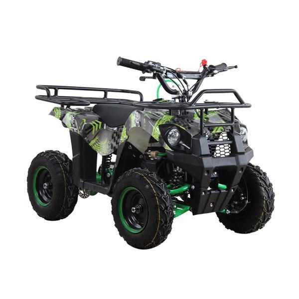 49cc Quad Bike Green Camo with Racks – Limited Edition