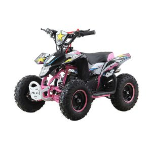 50cc Rockystar Quad Bike for Kids – Limited Edition Pink
